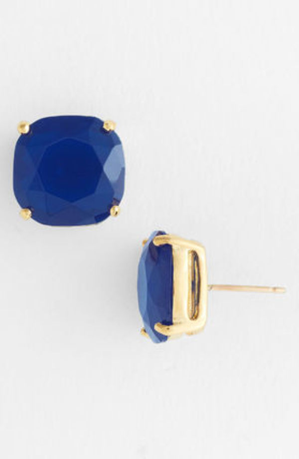 人気☆ケイトスペード☆small square stud earrings
