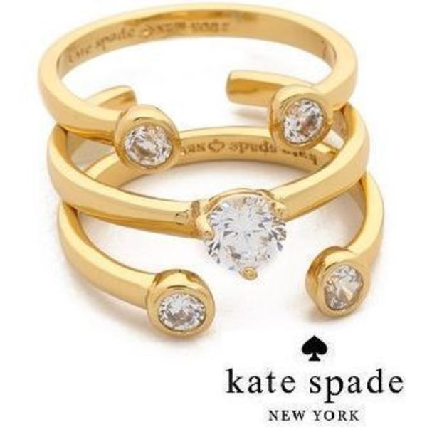 SALE★Kate Spade New York★Rise & Shine Stackable Rings