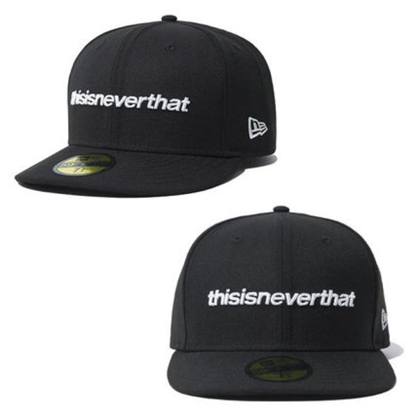 ★New Era×thisisneverthat★韓国 ロゴキャップ 5950 TNT BLACK