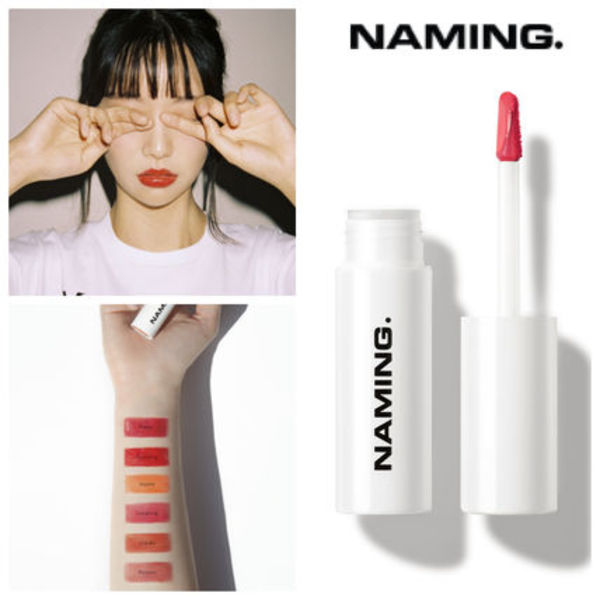【NAMING】新鋭韓国コスメ Dewy Glow Lip Tint 6color