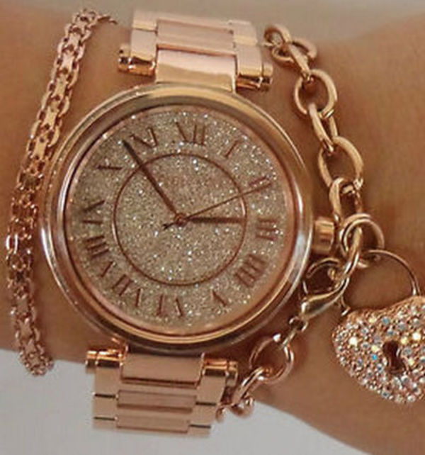 大人気☆ Michael Kors MK5868 Skylar Rose Gold
