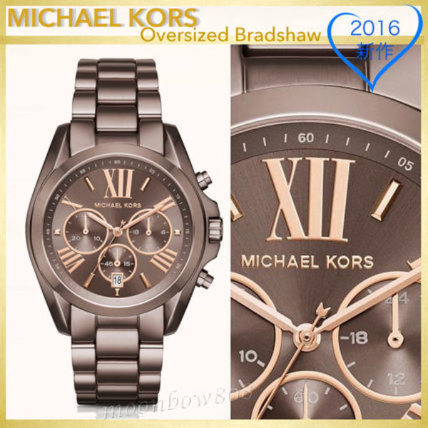 【新作☆限定品】MICHAEL KORS Oversized Bradshaw Sable Watch