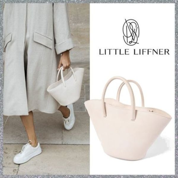人気先取り!【LITTLE LIFFNER】Open Tulip Tote Small Crudo