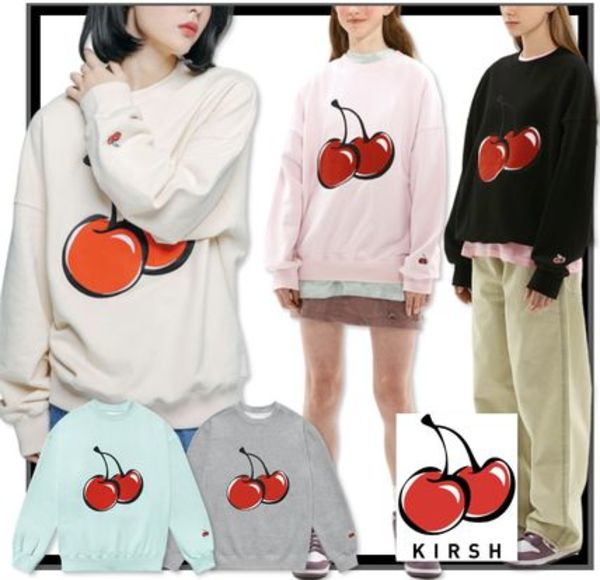 ★送料無料・関税込★KIRSH★ BIG CHERRY SWEATSHIRT JS★