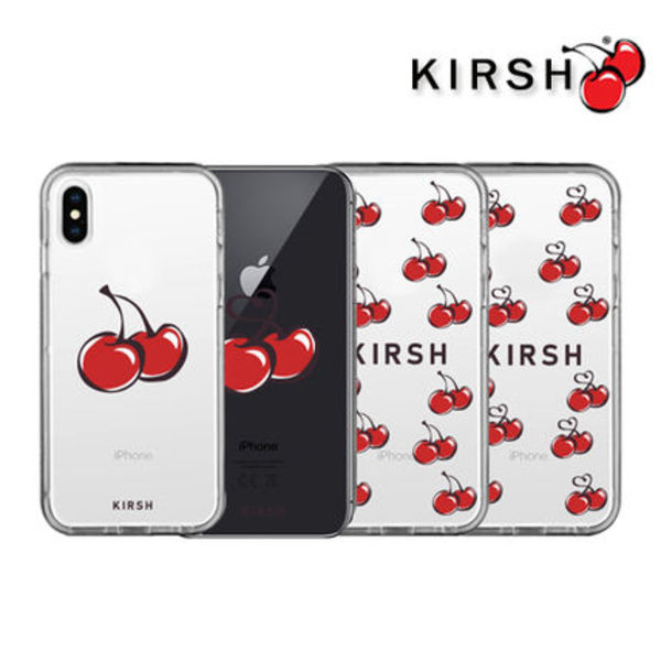 [KIRSH]  Cherry Clear スマホケース/ iPhone case