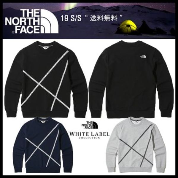 イベント/関税込★THE NORTH FACE★LINE LOGO SWEATSHIRTS★3色