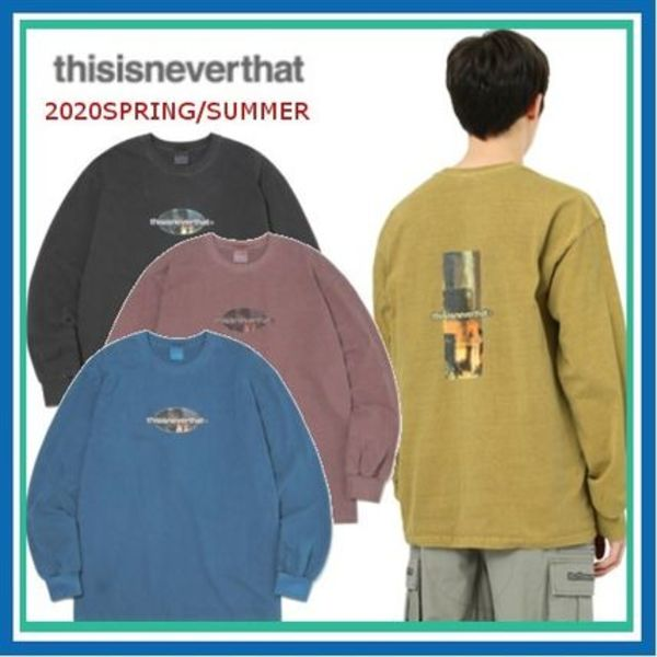 20SS*thisisneverthat Overdyed Rocket L/SL Top男女兼用 全4色