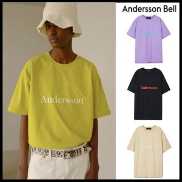 ☆ANDERSSON BELL☆ SIGNATURE EMBROIDERY TEE 4色
