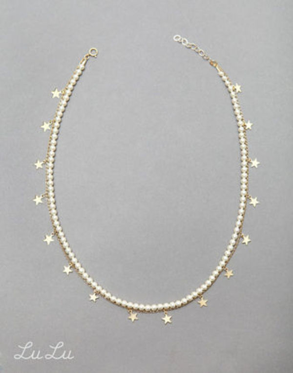 Stars & Pearls Necklace