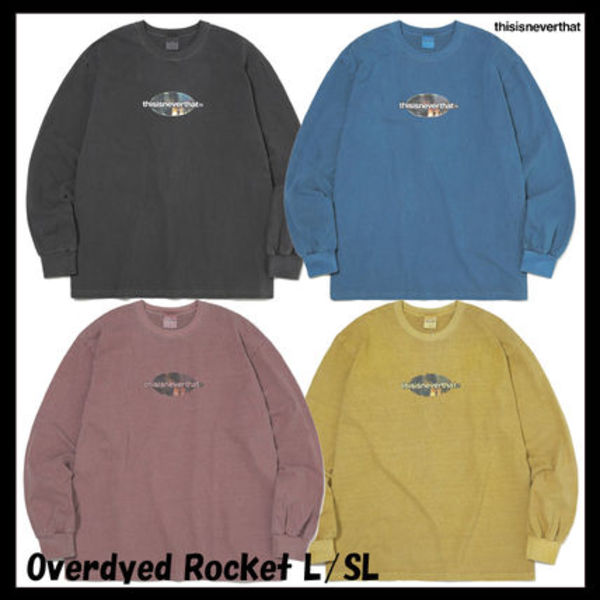 [thisisneverthat] Overdyed Rocket L/SL Top★韓国の人気