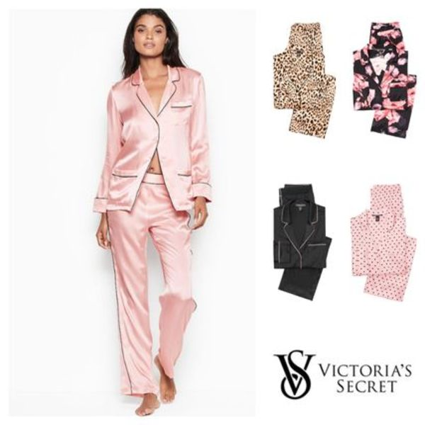 ★Victoria's Secret★シルク・パジャマセット