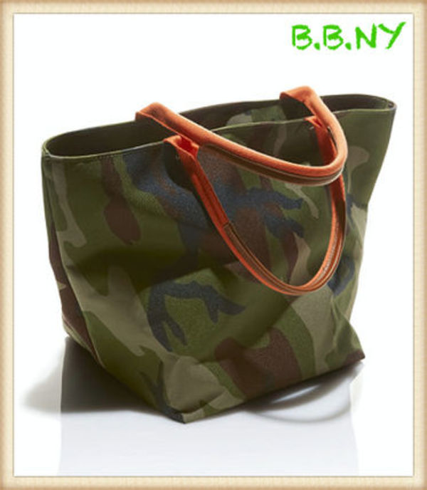 ☆L.L.Bean☆ Signature West Crescent Tote/Camo