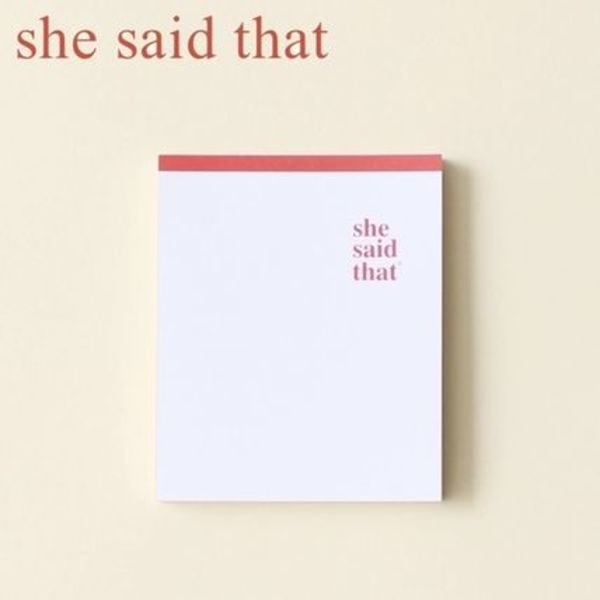 ★she said that★ORIGINAL MEMO【追跡送料込】