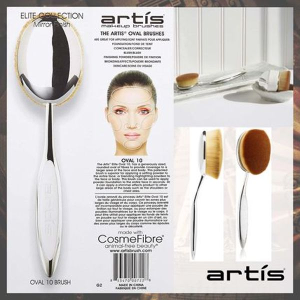 artis makeup brushes Oval 10
