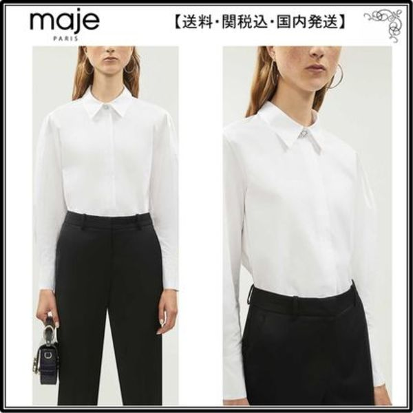 【関税込】Majeシャツ☆Capucine cotton shirt