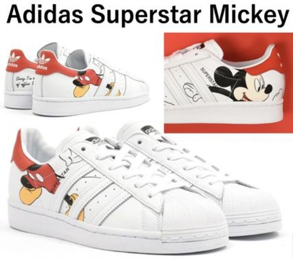 大人気! SUPERSTAR CNY MICKEY MOUSE OUT OF OFFICE FW2901