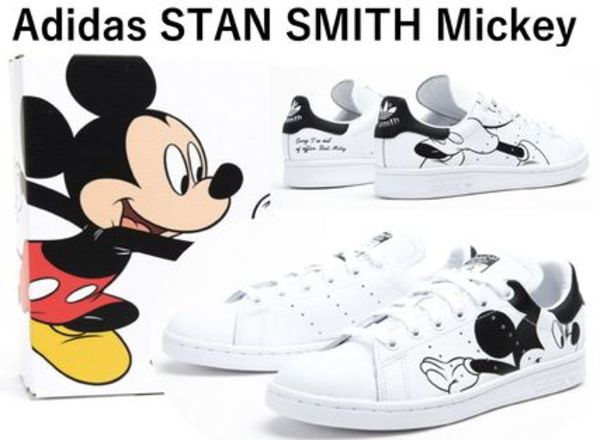 大人気! Mickey Mouse x adidas Stan Smith FW2895