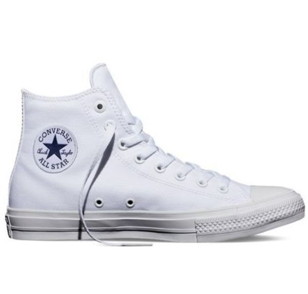 新作★海外限定★送料込★Converse All Star Ⅱ Hi Cut White