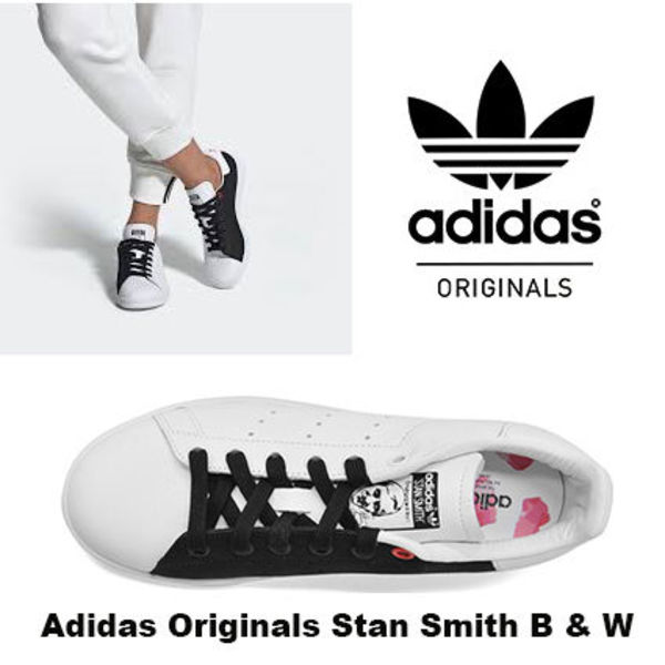 限定デザイン!Adidas Stan smith Black and White