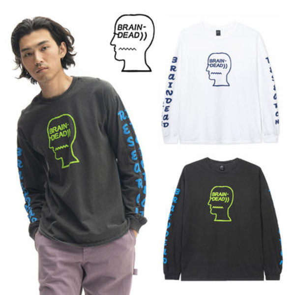 【Brain Dead】 VEHICLE LONG SLEEVE TEE