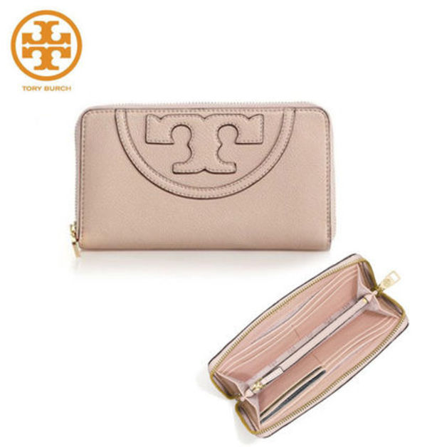 SALE!!  TORY BURCH ☆ ALL-T ZIP CONTINENTAL WALLET  国内発送