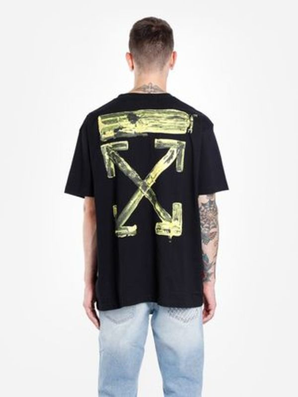 即発送 OFF WHITE 19FW ACRYLIC ARROWS S/S OVER TEE