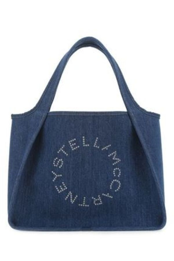 Stella McCartney★Stella Logoデニムトート 502793W8642