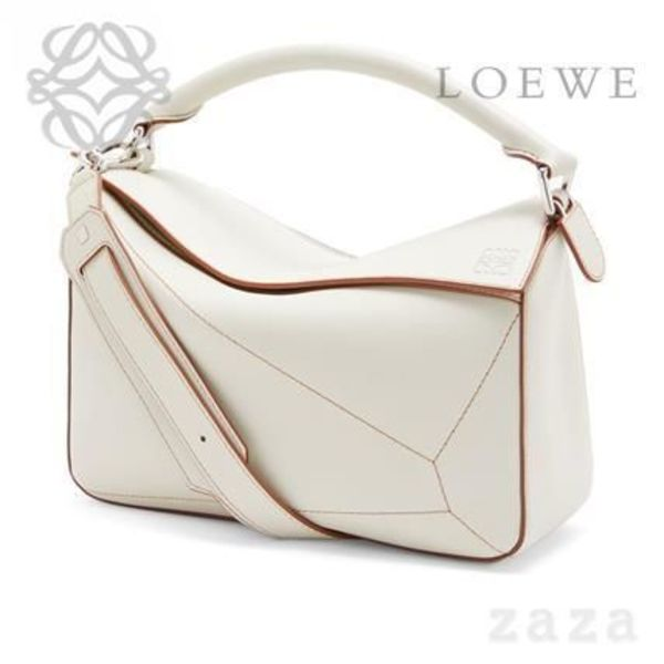 LOEWE★ロエベ Puzzle Soft Bag Soft White