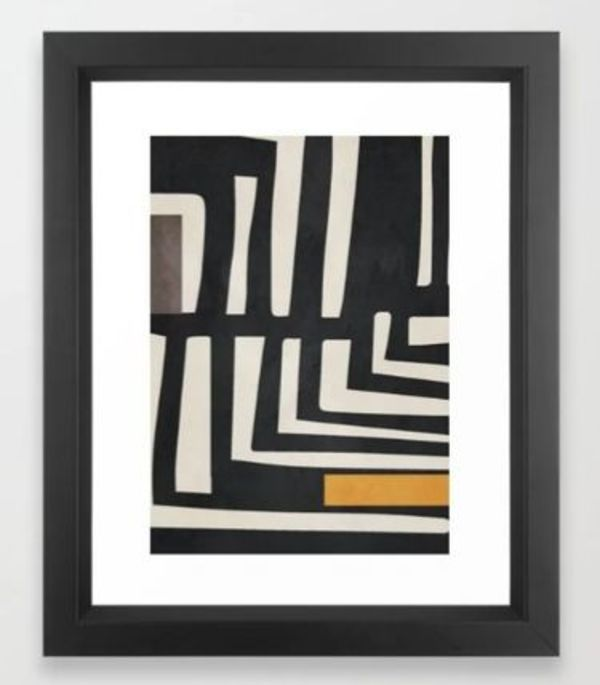 Abstract Art 16 Framed Art Print ★選べるフレーム付き★