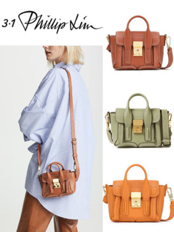 SALE! 在庫薄!3.1 Phillip Lim Pashli Nano leather Satchel