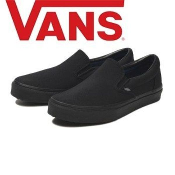 ☆国内正規品 要在庫確認☆VANS SHOKUNIN SLIP ON V98CF M.BLACK