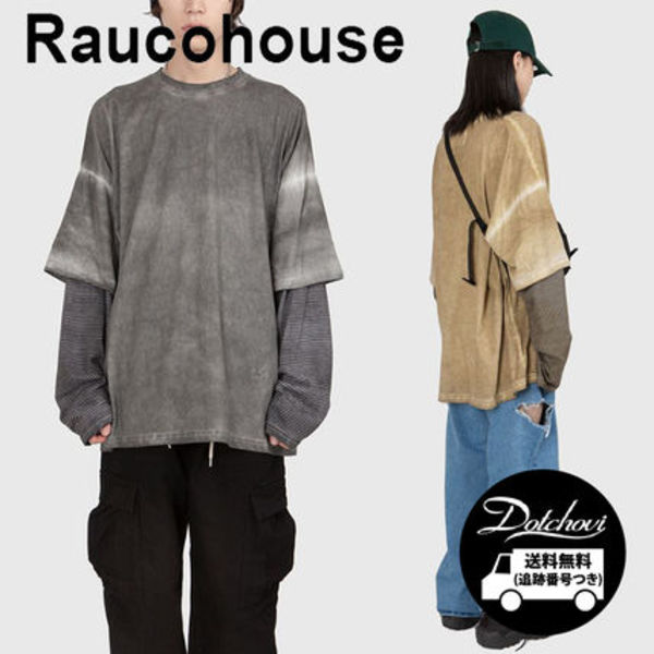 Raucohouse LUNA WASHED STRIPE LONG SLEEVE T YM320 追跡付