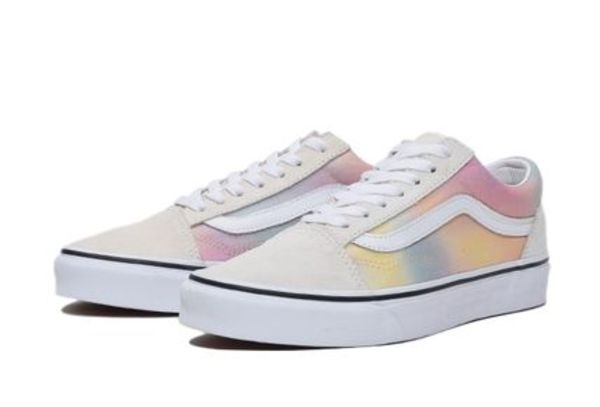 国内配送 VANS OLD SKOOL AURA SHIFT MULTI /TRUE WHITE