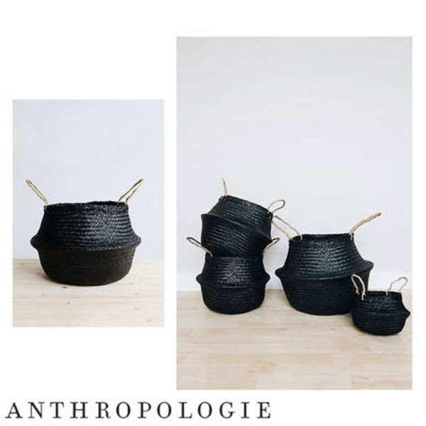 Anthroporogie  Connected Goods Coal Belly バスケット size S