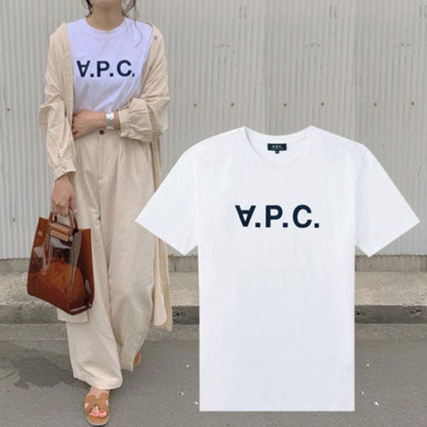A.P.C HOMME V.P.C. ロゴ Tシャツ