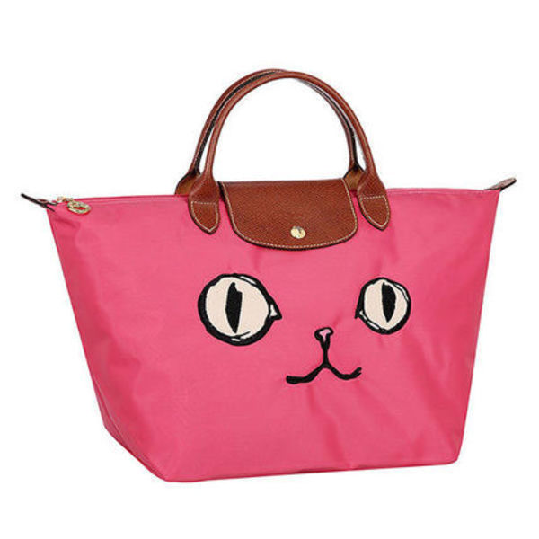 [Longchamp][DHL安心発送] Le Pliage MIAOU トートバッグ PINK