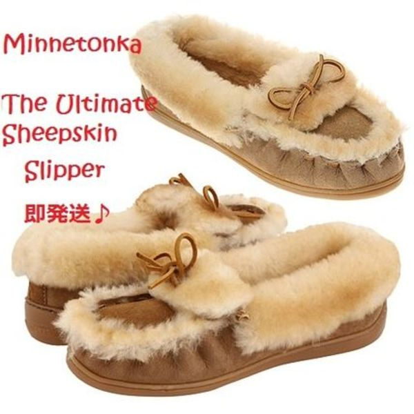 即発送 Minnetonka The Ultimate Sheepskin Slipper