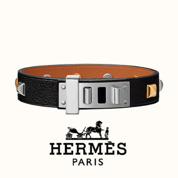 ★HERMES★ Mini Dog Clous Carres bracelet  ☆ブレスレット☆