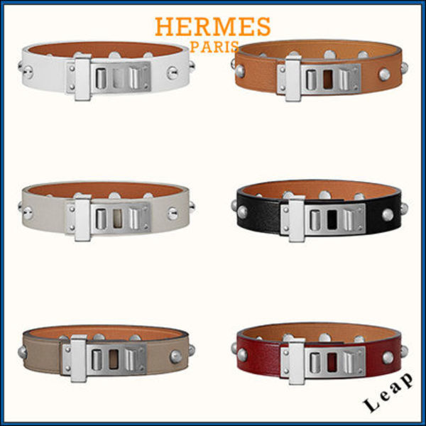 【HERMES】Mini Dog Clous Ronds Bracelet ブレスレット☆