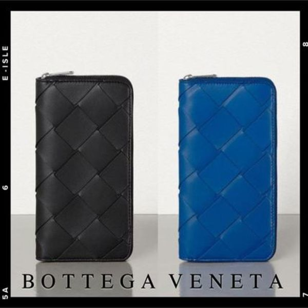 直営店【Bottega Veneta】ZIP AROUND WALLET