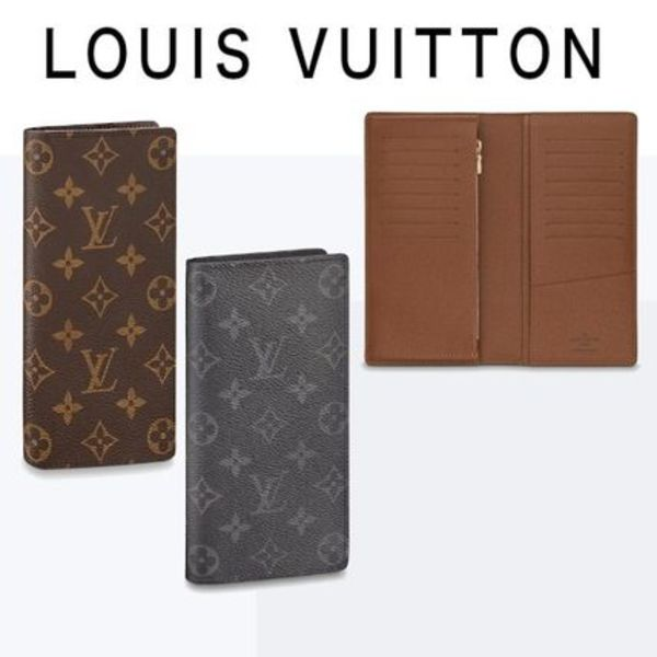 新作☆【LouisVuitton】LV★ BRAZZA WALLET メンズ財布