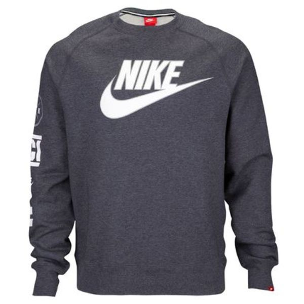 FW15 NIKE MEN'S XCI CREWNECK CREW CHARCOAL S-3XL 送料無料