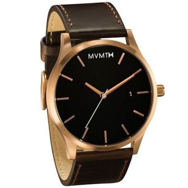 【日本未入荷】MVMT Watches◇RoseGold/Brown Leather☆国発☆