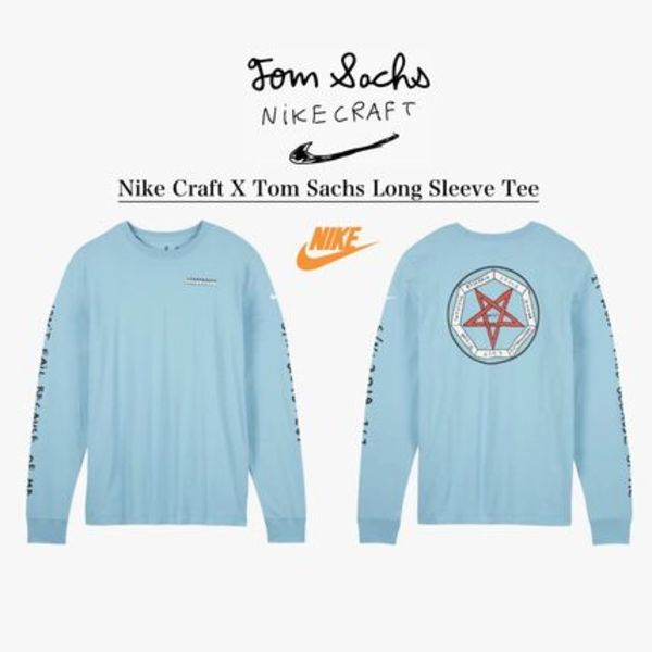 NIKE × TOM SACHS LONG SLEEVE TEE - ナイキ × トム サックス