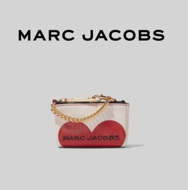 Marc Jacobs【国内発送・関税込】Vday The Box Heart Coin Pouch
