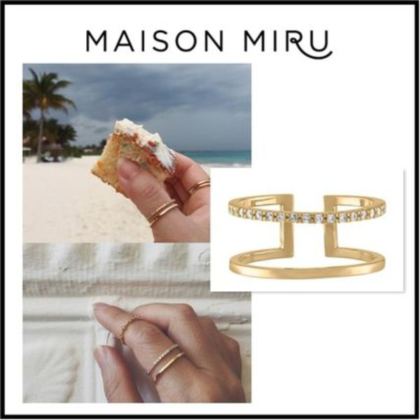 NY発ジュエリー・MAISON MIRU・JULIET RING