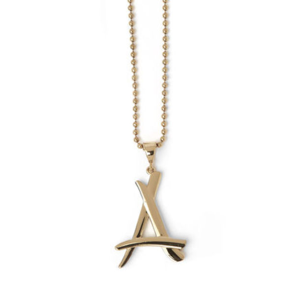 "【最新再発】ALUMNI GOLD ""A"" CHAIN"