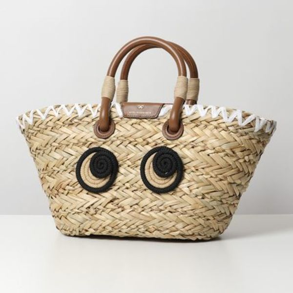 ANYA HINDMARCH 145084 SMALL BASKET ROPE EYES カゴバッグ かご