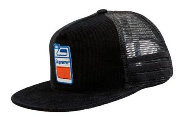 BLACK【国内在庫あり】SUPREME 19FW JUG MESH BACK 5 PANEL