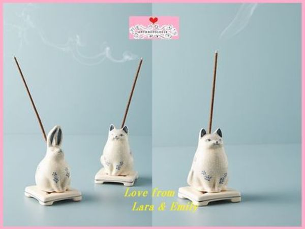 最安値保証*関税送料込【Anthro】Zen Creature Incense Holder